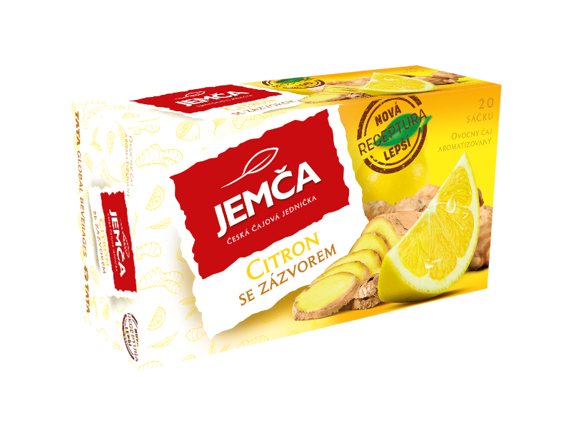 Jemča Čaj Citron se zázvorem 40g