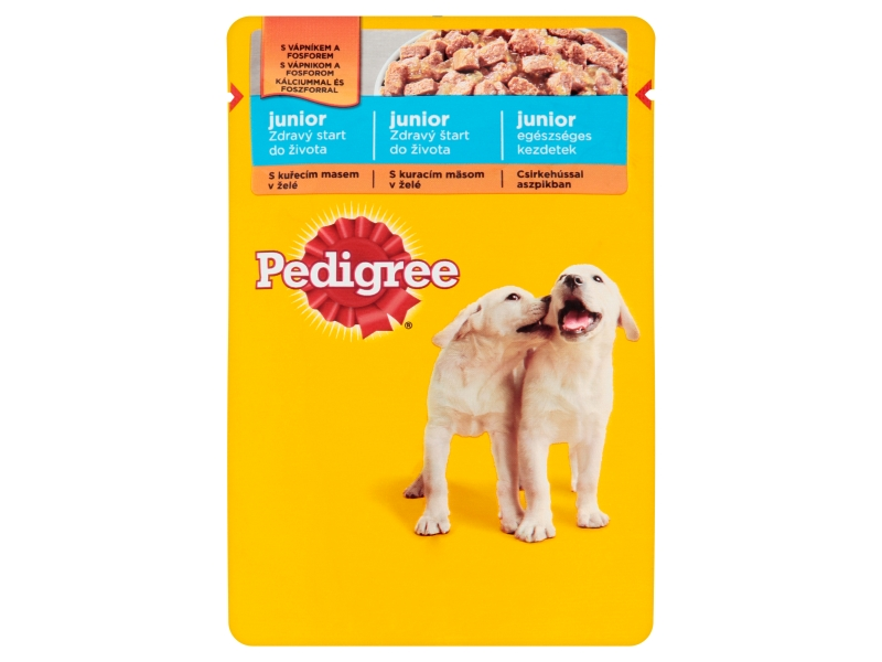 Pedigree Junior Kuřecí maso v želé 100g