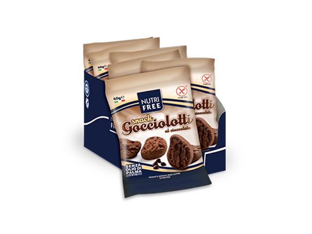 Nutrifree Svačinkové čokoládové kapky 40g