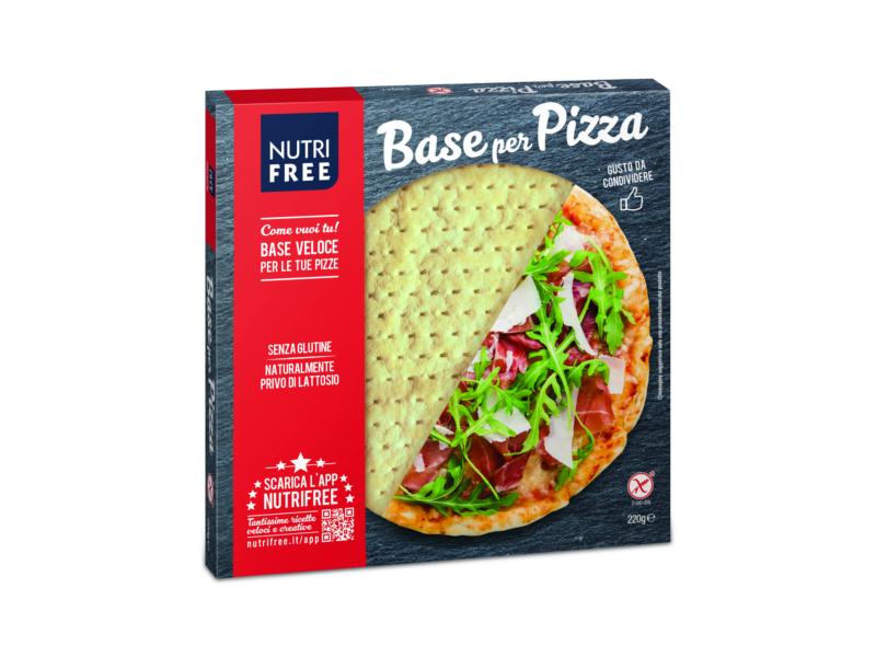 VÝPRODEJ Nutrifree Pizza korpus 200g