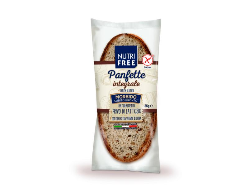 Nutrifree Celozrnný krájený chléb single pack 85g