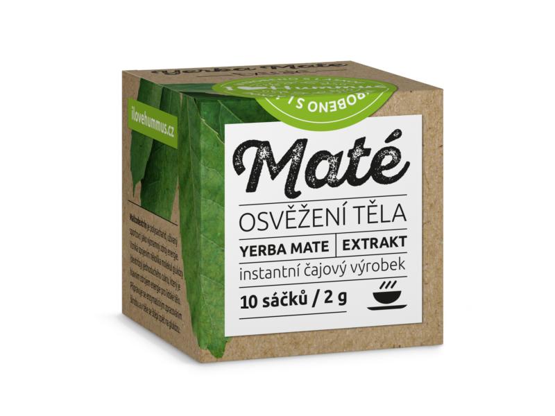 Yerba Maté Extrakt Instantní čajový výrobek 10x2g