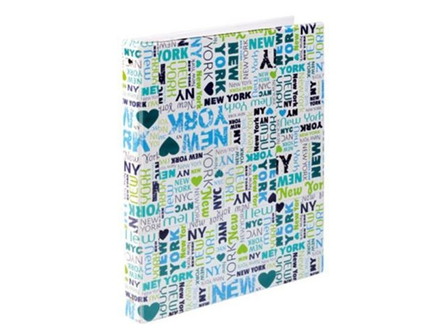 Blok kroužkový Karis New York A5 PVC 100 listů