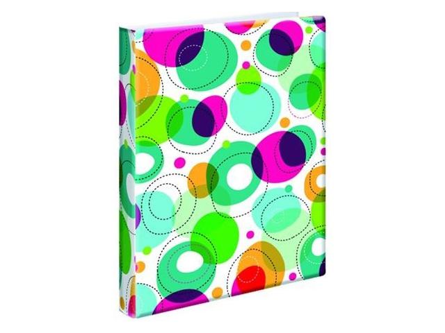 Blok kroužkový Karis Bubble A5 PVC 100 listů