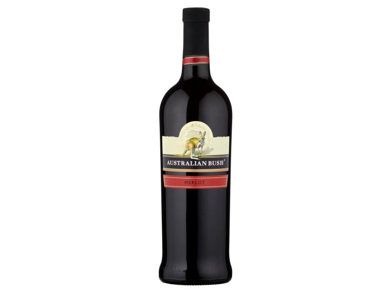 Australian Bush Merlot červené víno suché 750ml