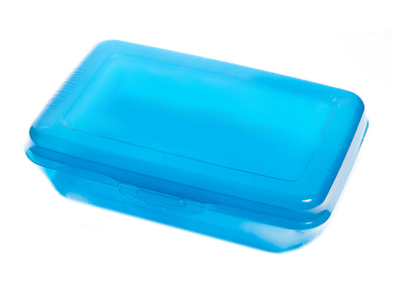 Dóza svačinová Miraplast standard modrá