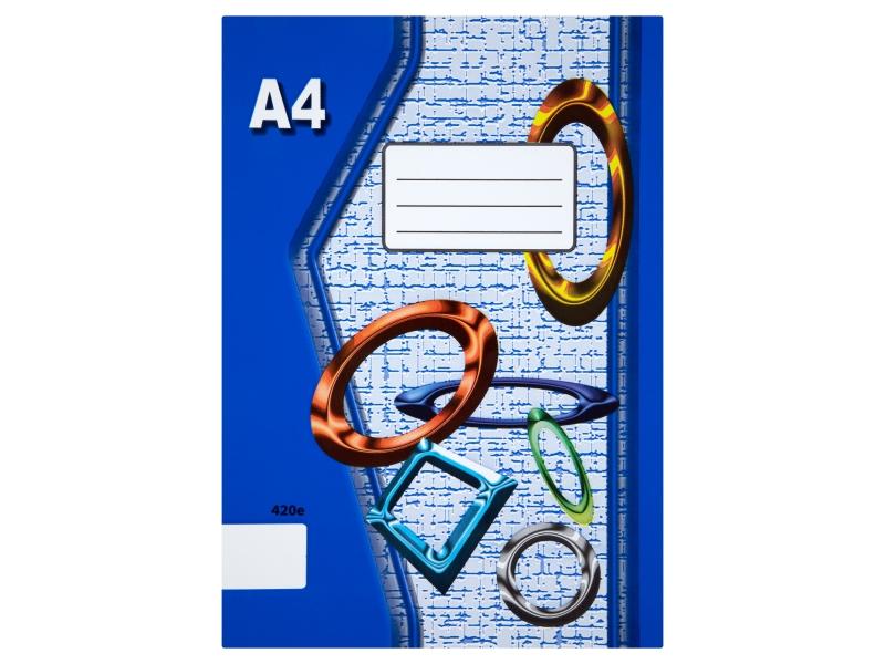 Sešit 420e A4 20 listů čistý 1ks