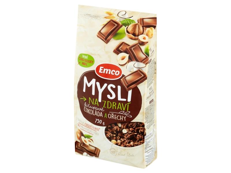 Emco Mysli s čokoládou a oříšky 750g