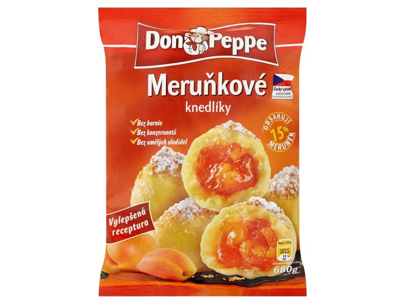 Don Peppe Tvarohové knedlíky meruňkové mraž. 1kg