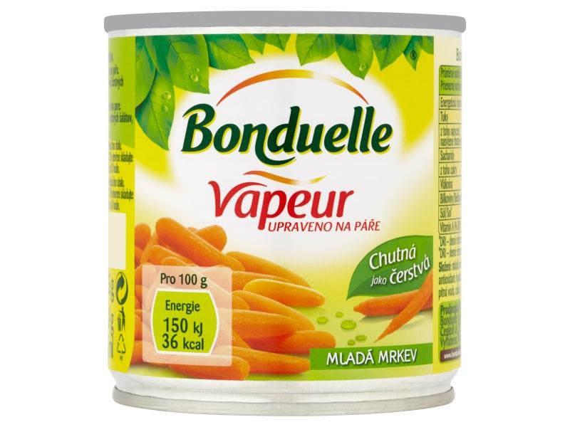 Bonduelle Vapeur Mladá mrkev 212ml
