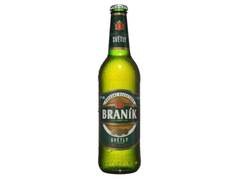 Braník světlé výčepní pivo 500ml