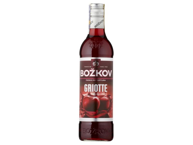 Božkov Griotte likér 18% 0,5l