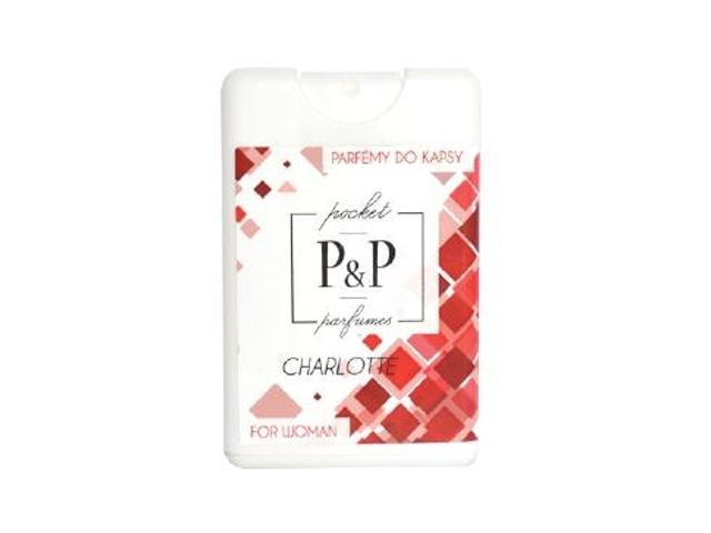 P&P Dámský kapesní parfém CHARLOTTE, 20ml
