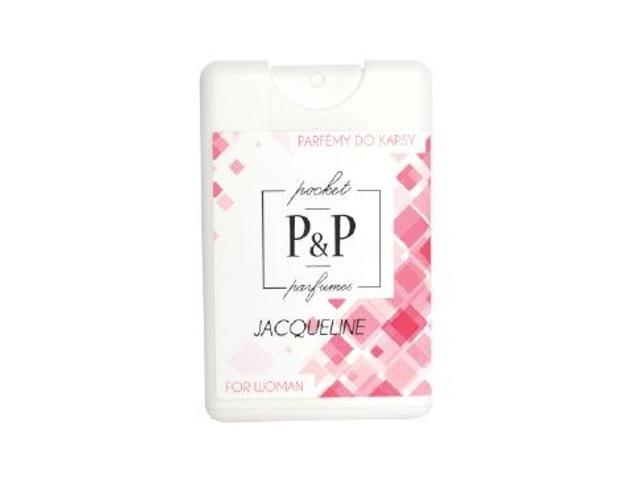 P&P Dámský kapesní parfém JACQUELINE, 20ml
