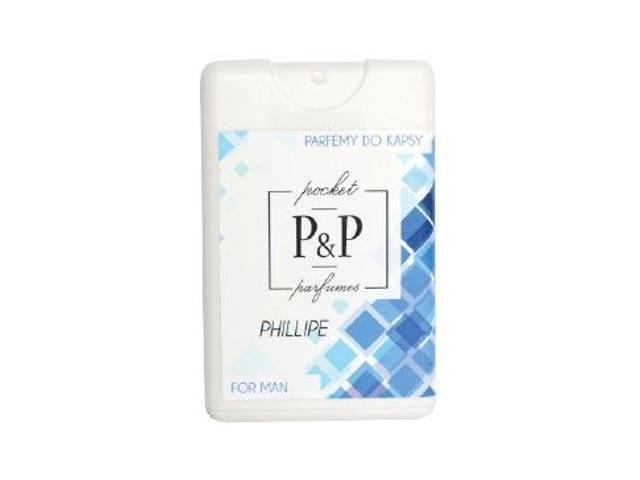 P&P Pánský kapesní parfém PHILLIPE, 20ml