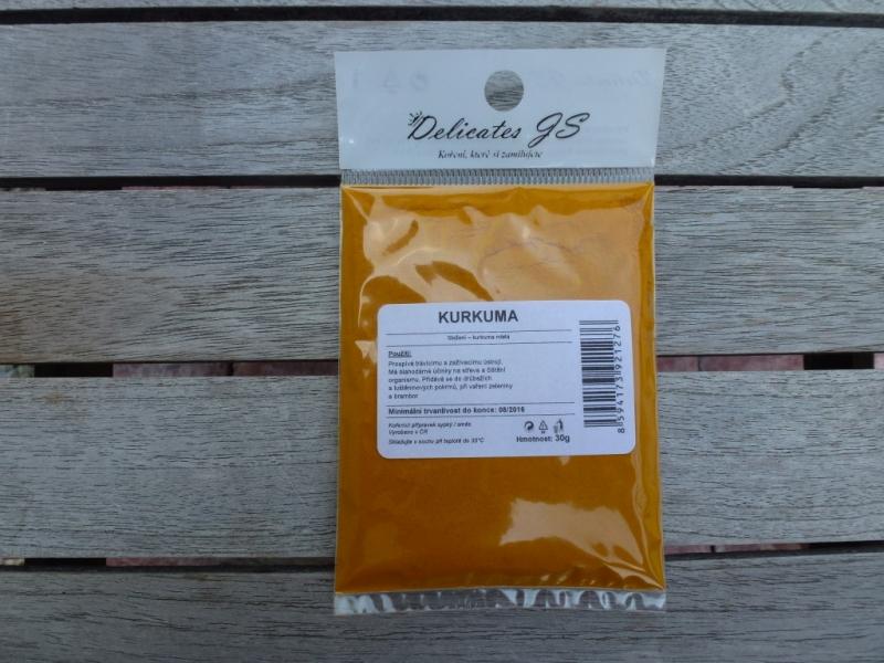 Delicates JS KURKUMA, 30g