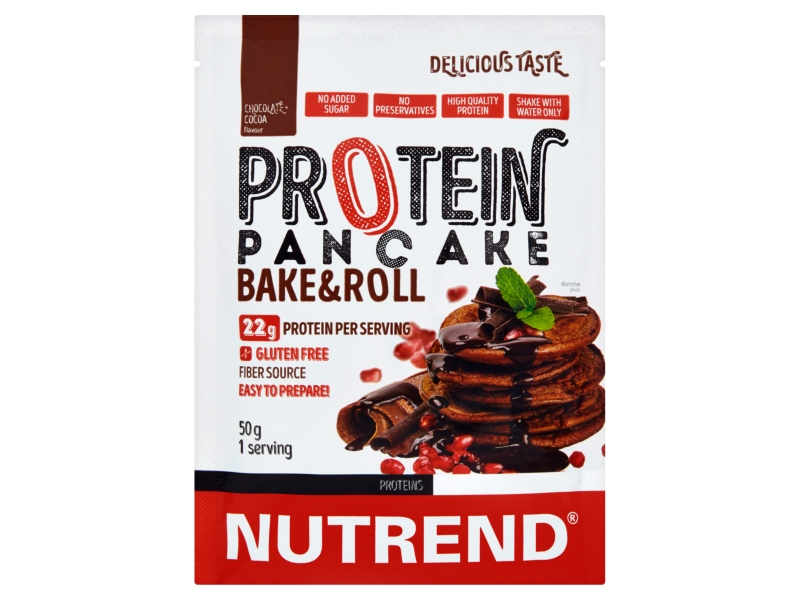 Nutrend Protein Pancake Palačinky příchuť čokoláda + kakao 50g