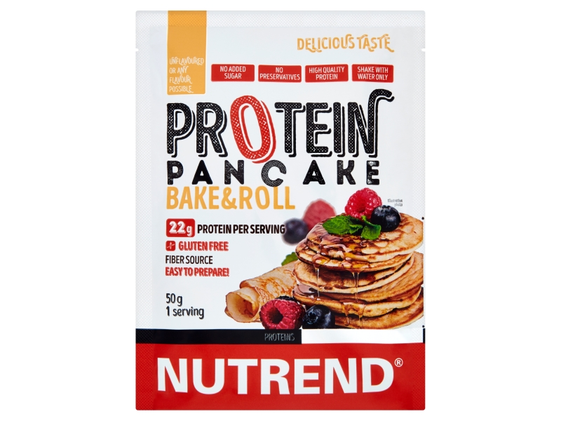Nutrend Protein Pancake Palačinky bez příchuti 50g
