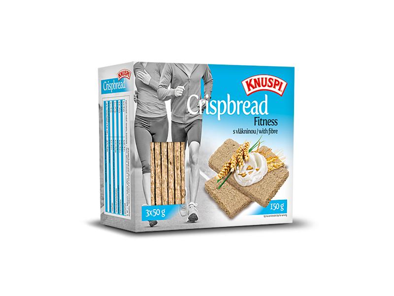 Knuspi Crispbread vícezrnné plátky Fitness, 150g