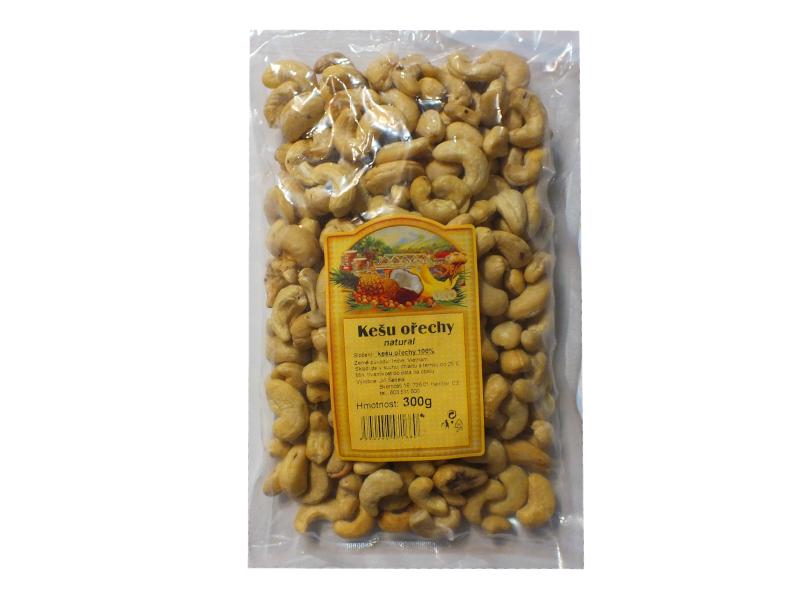 JTT Kešu ořechy natural 300g