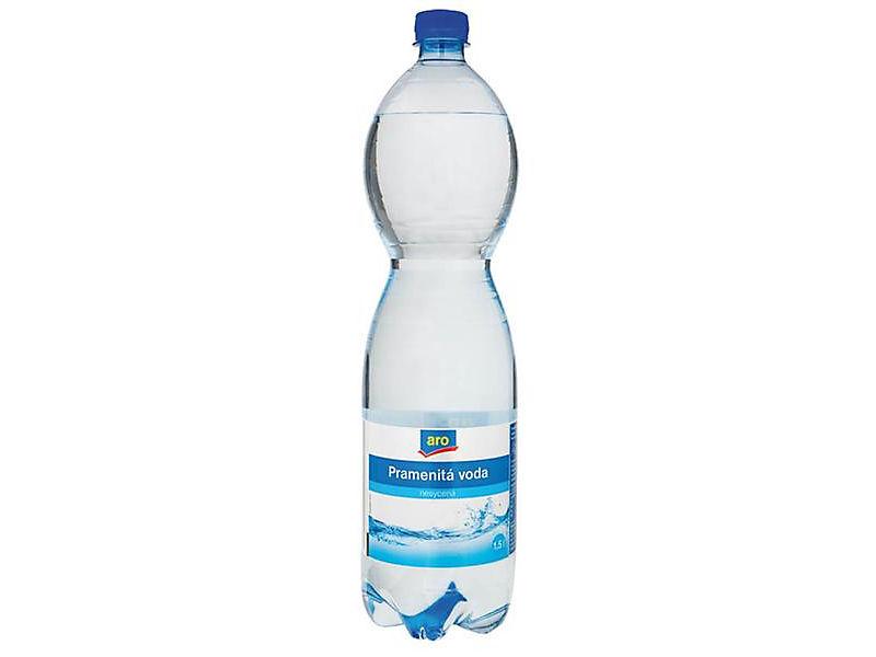 ARO Voda pramenitá neperlivá 1,5l