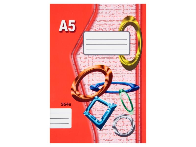 Sešit 564e A5 60 listů linkovaný 1ks