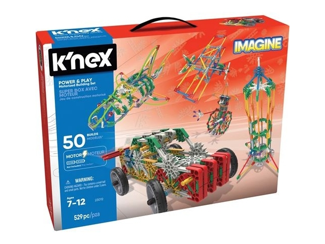 Knex Stavebnice Imagine Power 50 modelů 529D